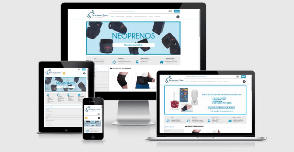 V&F Innovación - Responsitive Design